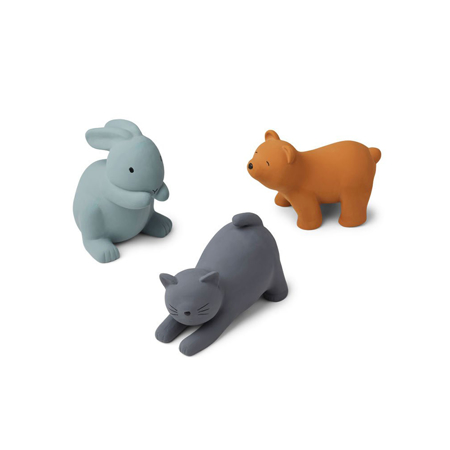 Picture of Liewood® David toys 3-pack Blue Multi Mix