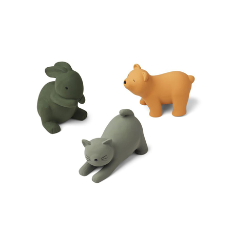Picture of Liewood® David toys 3-pack Green Multi Mix