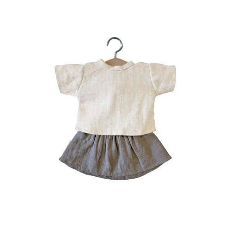 Picture of Minikane® Esemble dress in organic cotton Réjane 34cm