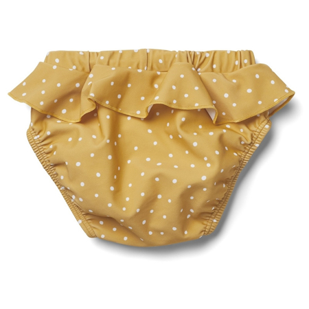 Picture of Liewood® Elise Baby Girl Swim Pants - Confetti Yellow Mellow