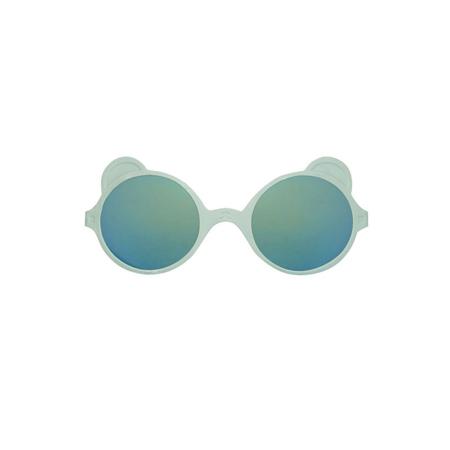 Picture of KiETLA® Sun shades for kids silver Almond Green 2-4Y