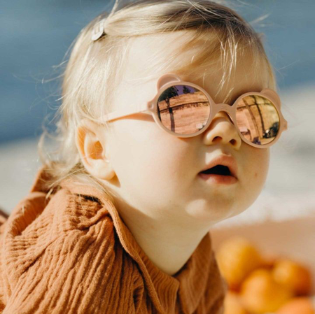 Picture of KiETLA® Sun shades for kids silver Peach Pink 1-2Y