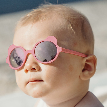 KiETLA® Sun shades for kids Antik Pink 1-2Y