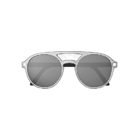 Picture of KiETLA® Sun shades for kids Stripe Pizz 6-9Y