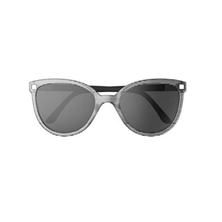 Picture of KiETLA® Sun shades for kids Stripe Buzz 6-9Y
