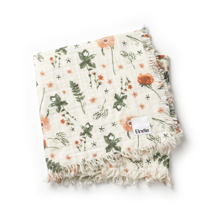 Picture of Elodie Details Soft Cotton Blanket  Meadow Blossom