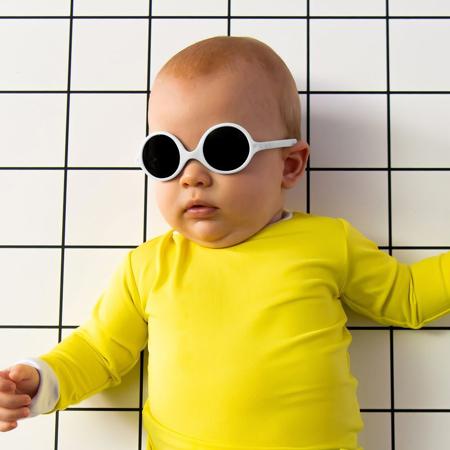 Picture of KiETLA® Sun shades for kids White 0-1Y