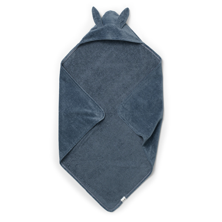 Picture of Elodie Details® Hooded Towel Blue Bunny (80x80)