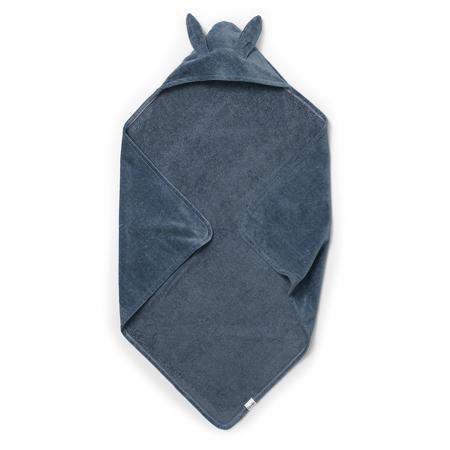 Elodie Details® Hooded Towel Blue Bunny (80x80)