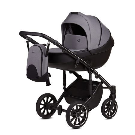 Picture of Anex® Stroller with Carrycot and Backpack 2v1 M/Type (0-22kg) Iron