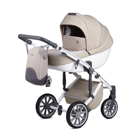 Picture of Anex® Stroller with Carrycot and Backpack 2v1 M/Type (0-22kg) Milk