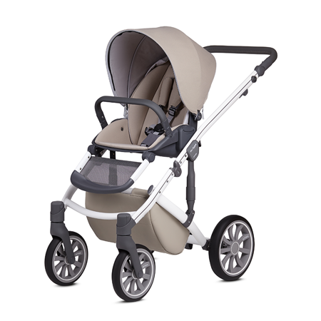 Anex® Stroller with Carrycot and Backpack 2v1 M/Type (0-22kg) Milk
