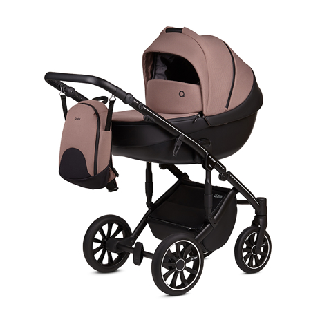 Picture of Anex® Stroller with Carrycot and Backpack 2v1 M/Type (0-22kg) Mocco