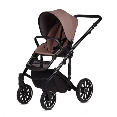 Anex® Stroller with Carrycot and Backpack 2v1 M/Type (0-22kg) Mocco