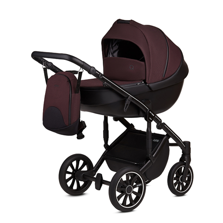 Picture of Anex® Stroller with Carrycot and Backpack 2v1 M/Type (0-22kg) Grape