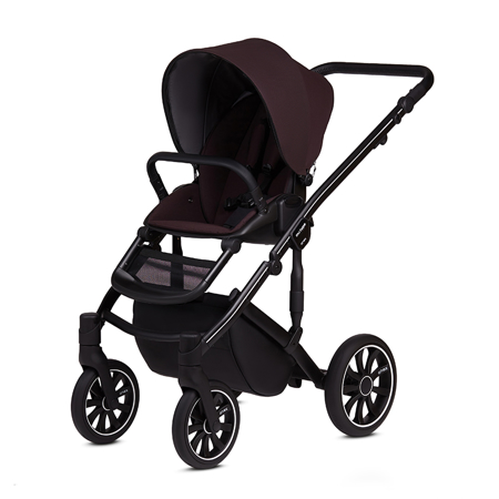 Anex® Stroller with Carrycot and Backpack 2v1 M/Type (0-22kg) Grape