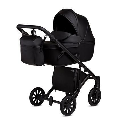 Picture of Anex® Stroller with Carrycot and Backpack 2v1 E/Type (0-22kg) Noir