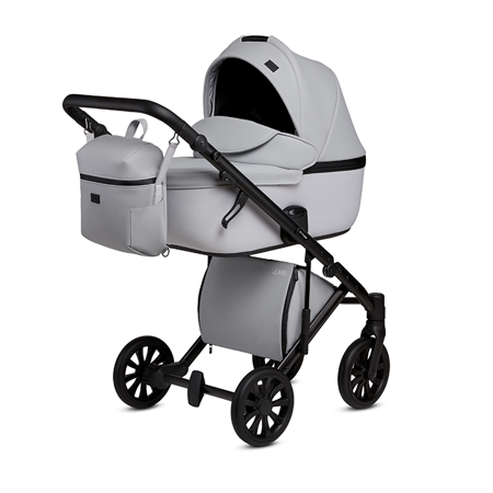 Picture of Anex® Stroller with Carrycot and Backpack 2v1 E/Type (0-22kg) Marble