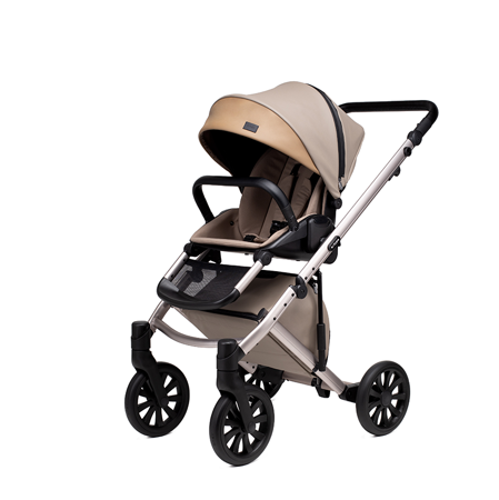 Anex® Stroller with Carrycot and Backpack 2v1 E/Type (0-22kg) Truffle