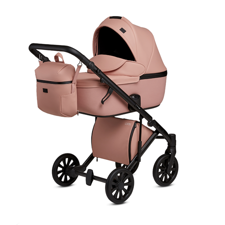 Picture of Anex® Stroller with Carrycot and Backpack 2v1 E/Type (0-22kg) Peach
