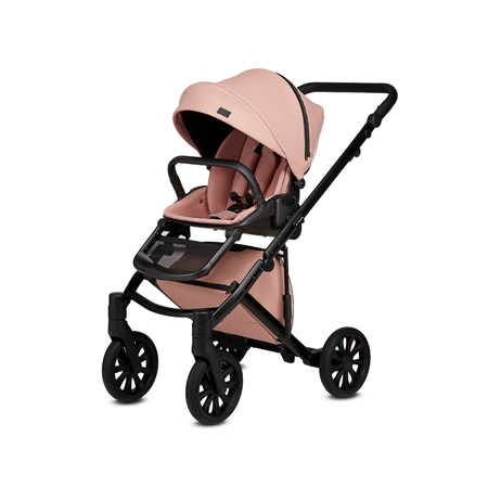 Anex® Stroller with Carrycot and Backpack 2v1 E/Type (0-22kg) Peach