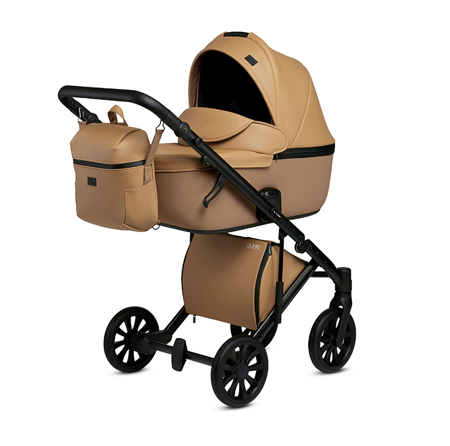 Picture of Anex® Stroller with Carrycot and Backpack 2v1 E/Type (0-22kg) Caramel