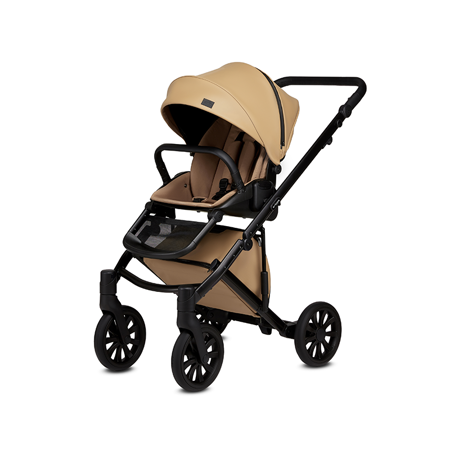 Anex® Stroller with Carrycot and Backpack 2v1 E/Type (0-22kg) Caramel