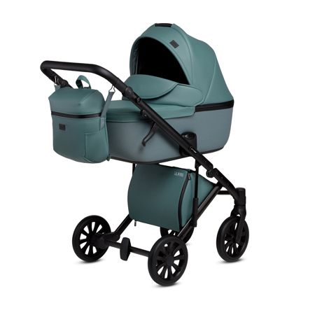 Picture of Anex® Stroller with Carrycot and Backpack 2v1 E/Type (0-22kg) Aqua