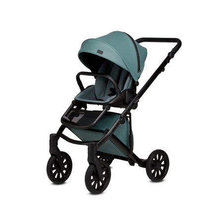 Anex® Stroller with Carrycot and Backpack 2v1 E/Type (0-22kg) Aqua