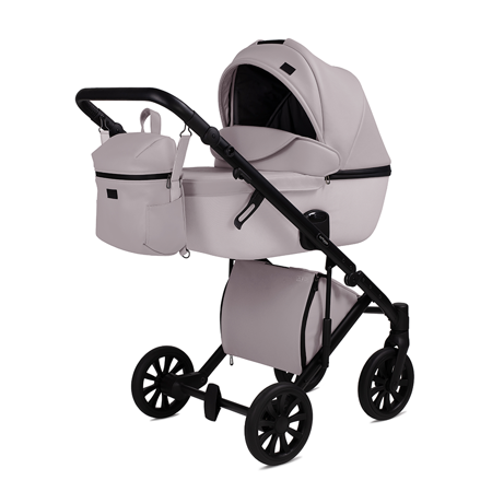 Picture of Anex® Stroller with Carrycot and Backpack 2v1 E/Type (0-22kg) Pearl
