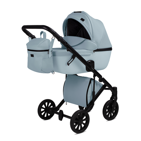 Picture of Anex® Stroller with Carrycot and Backpack 2v1 E/Type (0-22kg) Crystal