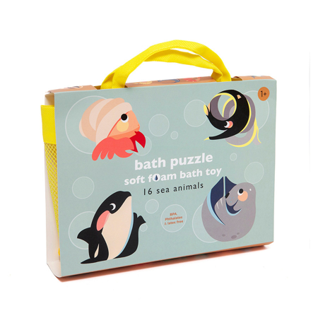 Picture of Petit Monkey® Puzzle Bath Sea Animals