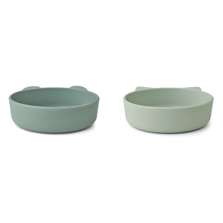 Picture of Liewood® Vanessa Plate 2 Pack - Mint Mix