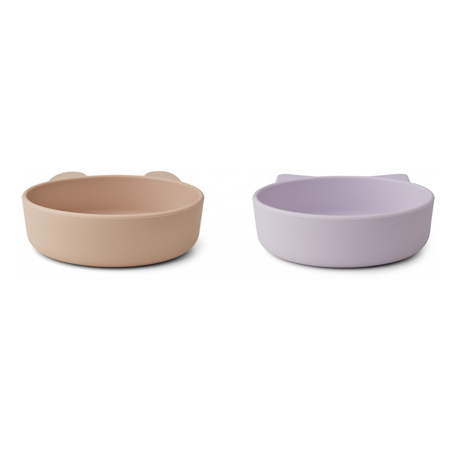 Picture of Liewood® Vanessa Plate 2 Pack - Light Lavender Rose Mix