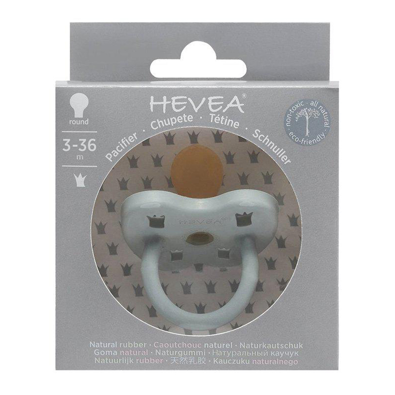 Picture of Hevea® Pacifier Orthodontic (3-36m) Gorgeous Grey