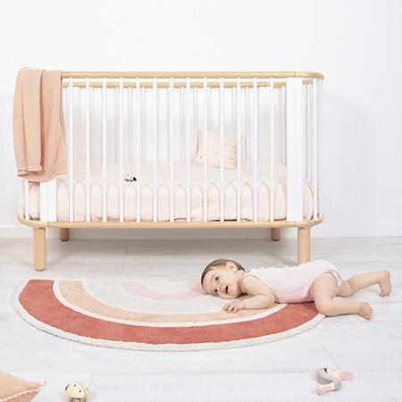 Picture of Lilipinso® Baby carpet Rainbow Orange 120x70