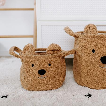 Childhome® košara za igračke Teddy 25x20x20 cm