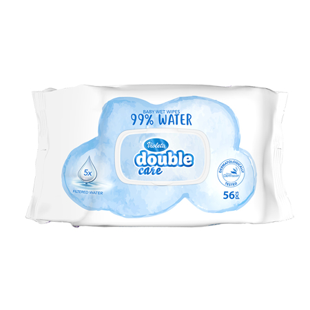 Picture of Violeta® Baby Wipes Water Care 56 Pcs