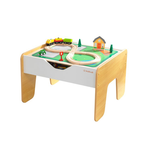 Picture of KidKratft® 2-in-1 activity table with board Gray and Natural