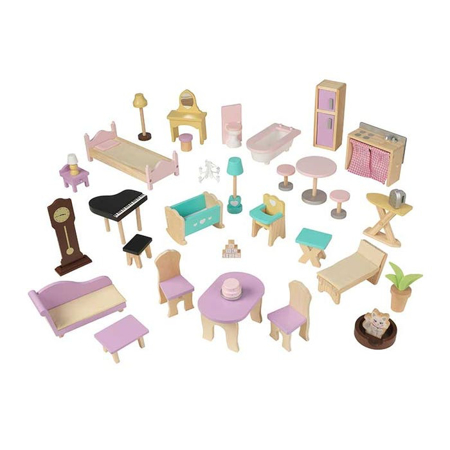 Picture of KidKratft® Grand View Mansion Dollhouse with ez Kraft  Assembly