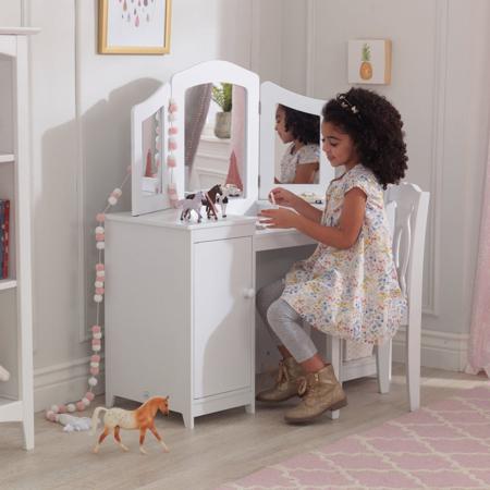 Picture of KidKratft® Medium Vanity & Stool Deluxe Vanity