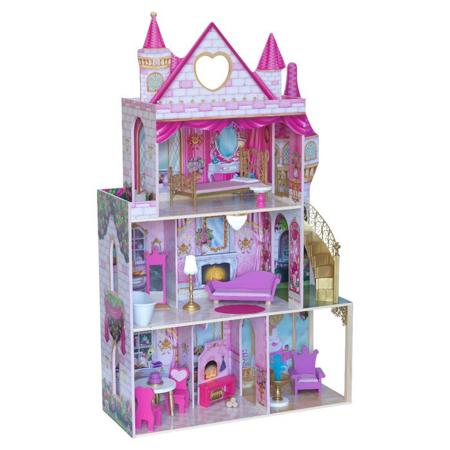 Picture of KidKratft® Rose Garden Castle With Ez kraft Assembly