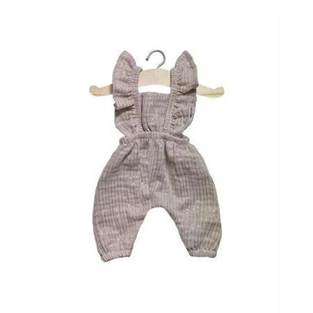 Picture of Minikane® Combinaison Maya cotton Lurex Beige 34cm