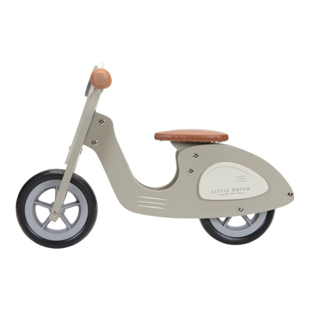 Picture of Little Dutch® Scooter hout Olive