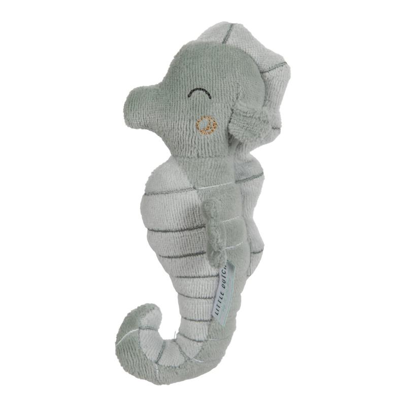 Picture of Little Dutch® Rattle toy Seahorse Ocean Mint