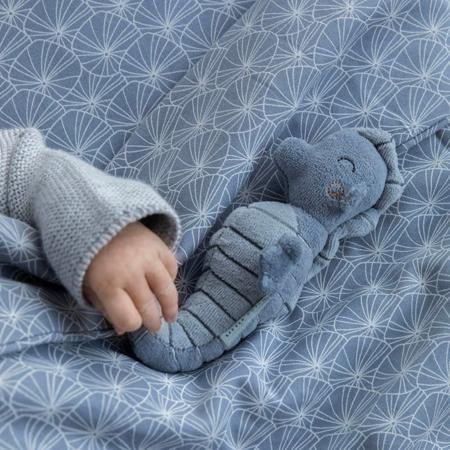 Picture of Little Dutch® Rattle toy Seahorse Ocean Blue