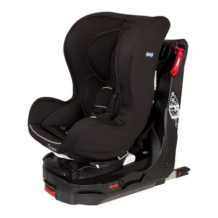 Quax® Car seat  Easy Rider 360° Isofix  0+/1 (0-18 kg) Black