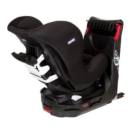 Picture of Quax® Car seat  Easy Rider 360° Isofix  0+/1 (0-18 kg) Black