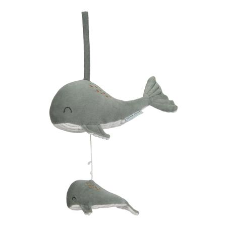 Picture of Little Dutch® Music box Whale Ocean Mint