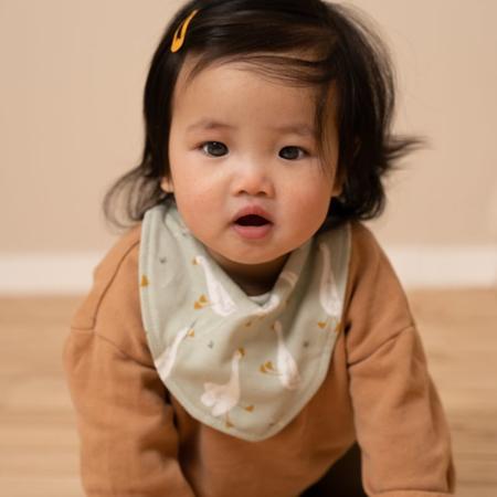 Picture of Little Dutch® Bandana bib Little Goose